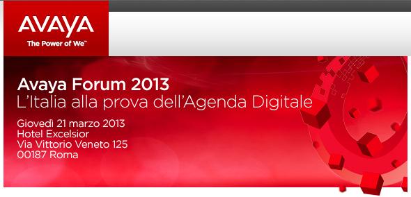 Avaya Forum 2013