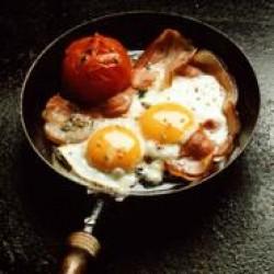 uova e prosciutto