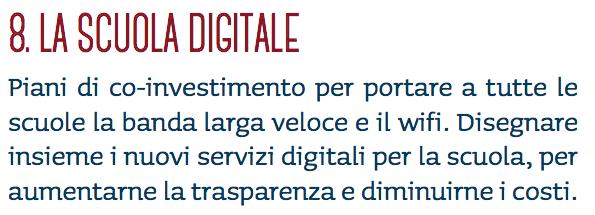 8. Scuola Digitale